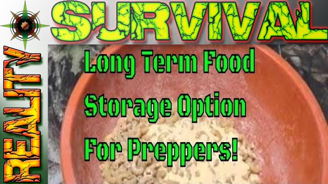 long-term survival food