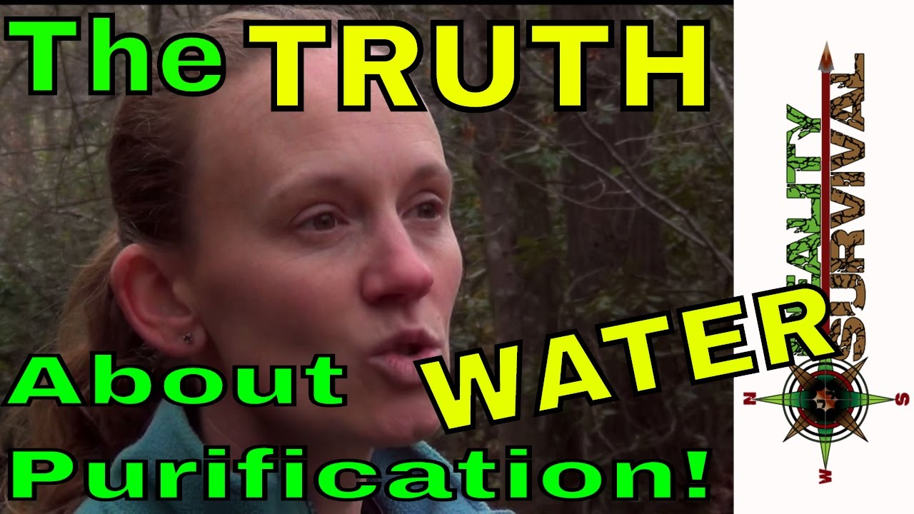 truth about wilderness water purification